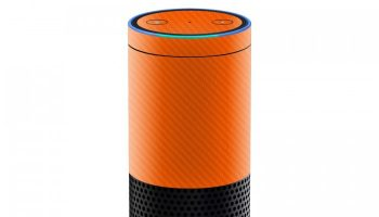 amazon_echo_orange_carbon_skins