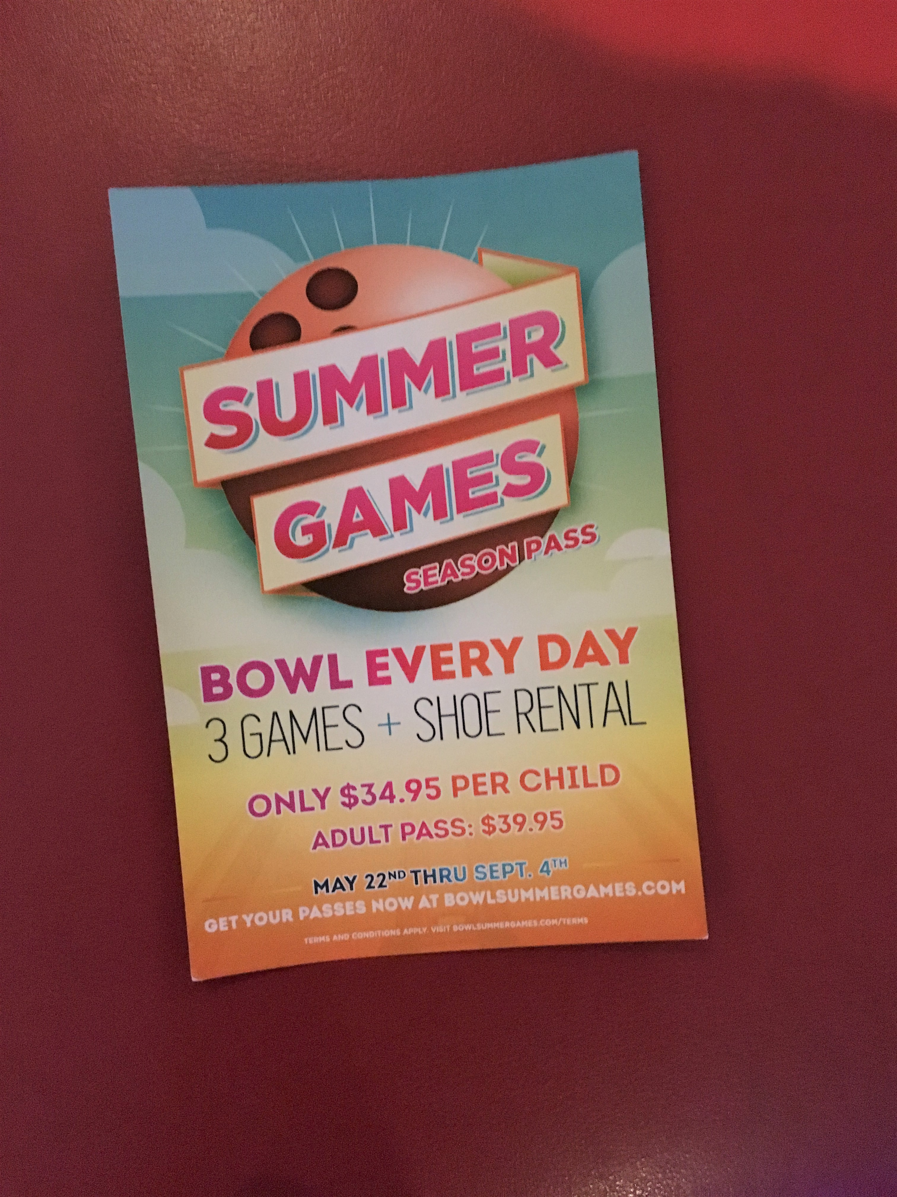 Chill out and bowl away the summer with season passes | The