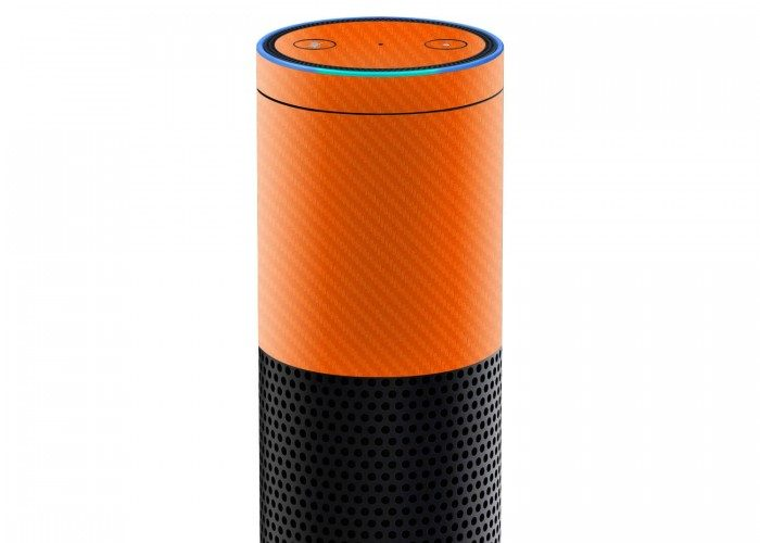 amazon_echo_orange_carbon_skins